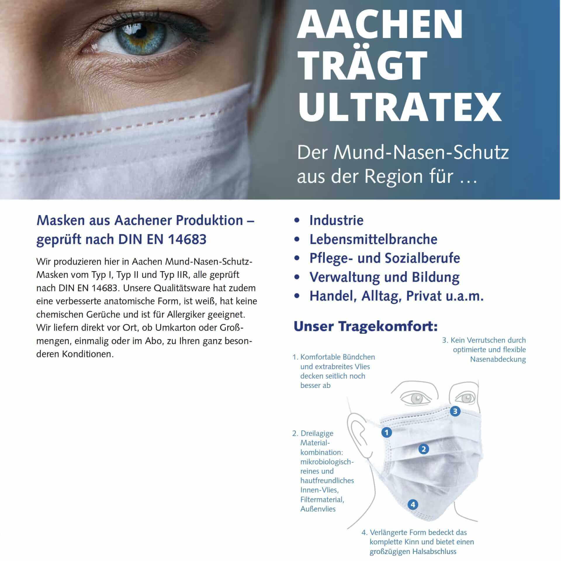 Mundschutz Masken Made in Germany kaufen - Medizinische Maske